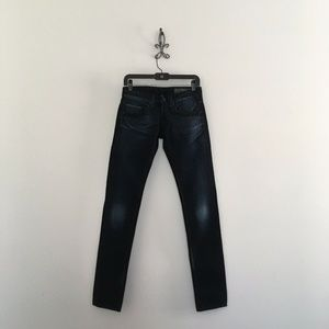 Care Label Low Rise Italian Jeans Size 25 NWOT